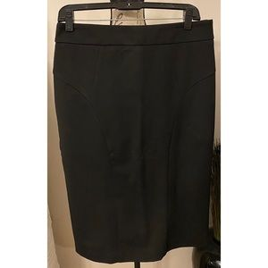 New York & Company Black Skirt Size 8